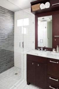Cherry Bathroom Cabinets Design Ideas