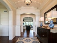 Barrel Ceiling Design - Traditional - entrance/foyer ...