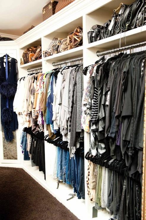 Glamorous Walk In Closet Design Ideas