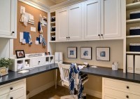 Built-In Desk - Cottage - den/library/office - Farinelli ...