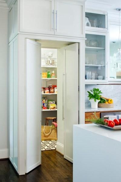 hidden kitchen pantry cabinets Hidden Pantry - Transitional - kitchen - Terracotta Studio