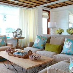 Turquoise And Brown Living Room Decorating Ideas Showcase Pictures India Design Blue With Milk Chocolate Light Slipcover Sofa Paired Green Velvet Lumbar Pillow Pair Of Linen