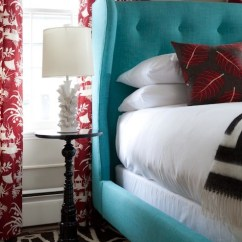 Pictures Of Black And White Living Rooms Area Rug In Room Turquoise Headboard - Eclectic Bedroom Rachel Reider ...