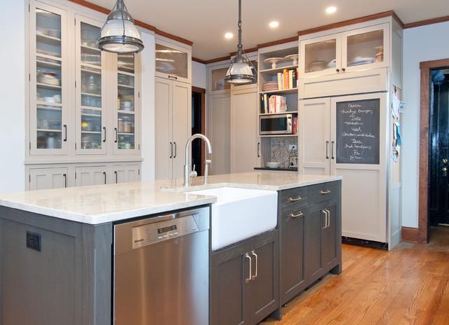 kitchen sink rugs stainless steel cabinet chalkboard refrigerator door - vintage lab