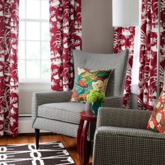 Pictures Of Living Rooms With Brown Furniture Design Room Small Space Robert Allen Crystal Lake Lacquer Fabric - Eclectic ...