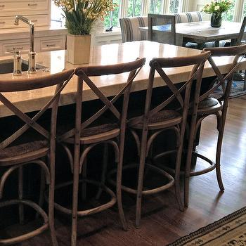 4 stool kitchen island high end faucets reviews restoration hardware madeleine counter stools design ideas