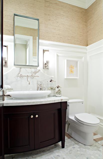 Espresso Cabinets  Contemporary  bathroom  Elizabeth