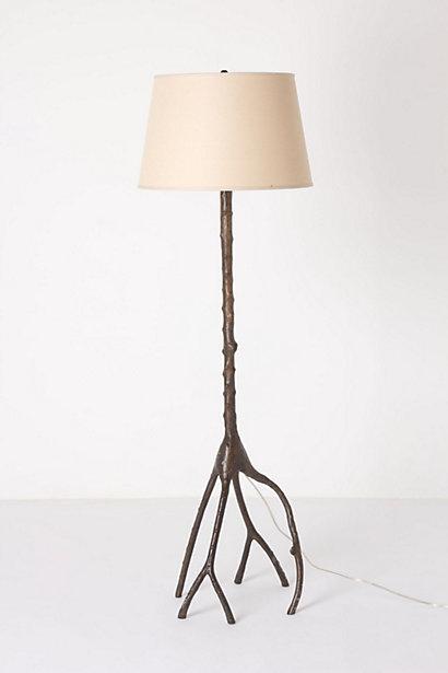 Wild Oak Floor Lamp