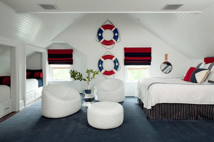 Nautical Theme Boys Bedroom  Cottage  boys room