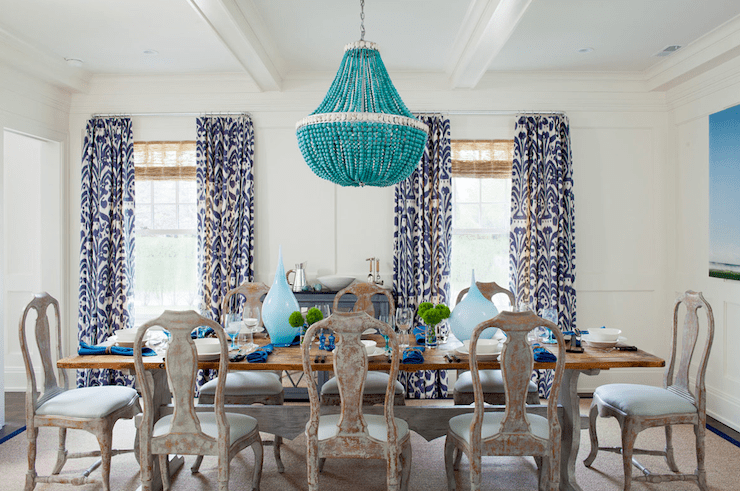 Ikat Curtains Design Ideas