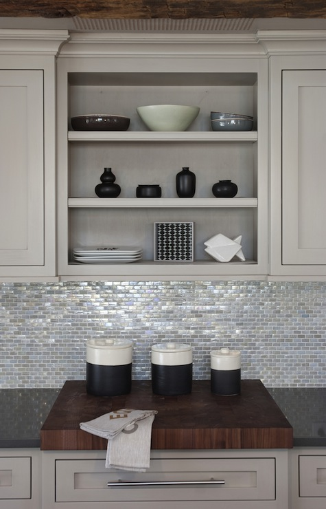 Light Gray Kitchen Cabinets  Country  kitchen  Papyrus