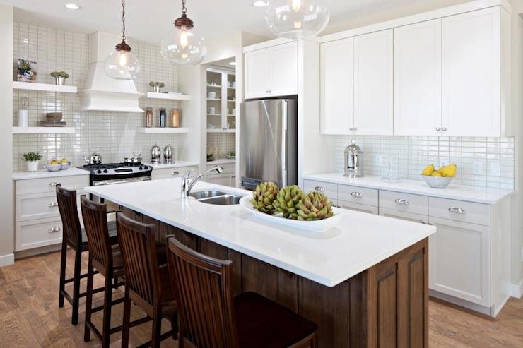 L Shaped Kitchen  Transitional  kitchen  Cardel Designs