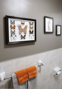 Gray Bathroom Paint Color - Contemporary - bathroom ...