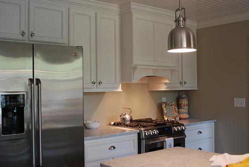 Small Efficient Kitchen  Cottage  kitchen  While They Sleep