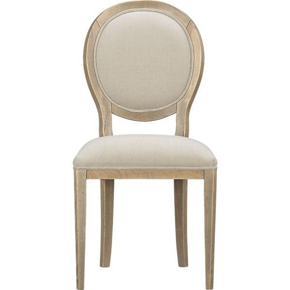crate and barrel armless chair design process oval back dining - west elm