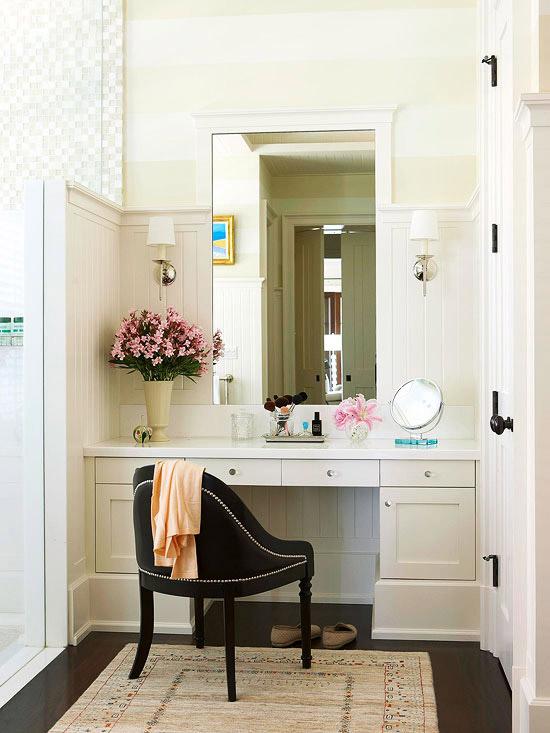 Built In Vanity  Transitional  bathroom  BHG