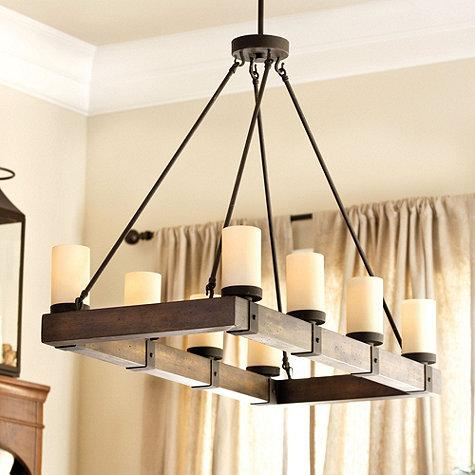 Arturo 8 Light Chandelier Ballard Designs