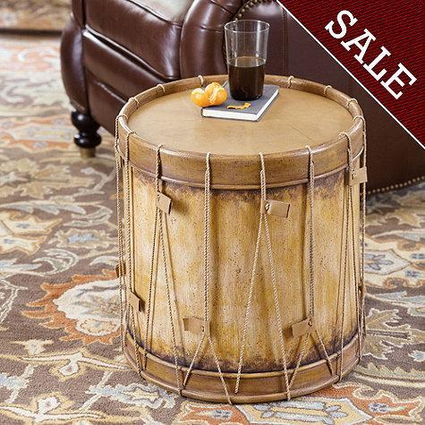 Drum Side Table  Ballard Designs