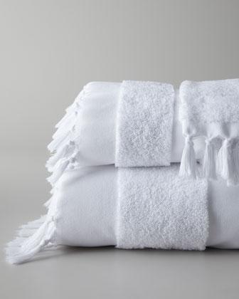 Tassel Bath Towels  Neiman Marcus