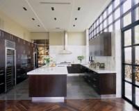 Modern Espresso Kitchen - Contemporary - kitchen - Jamie ...