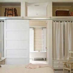 Premade Kitchen Cabinets Nook Style Table Sliding Barn Doors Design Ideas