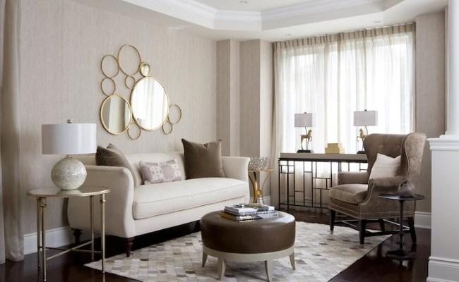 Neutral Palette Living Room Contemporary Living Room