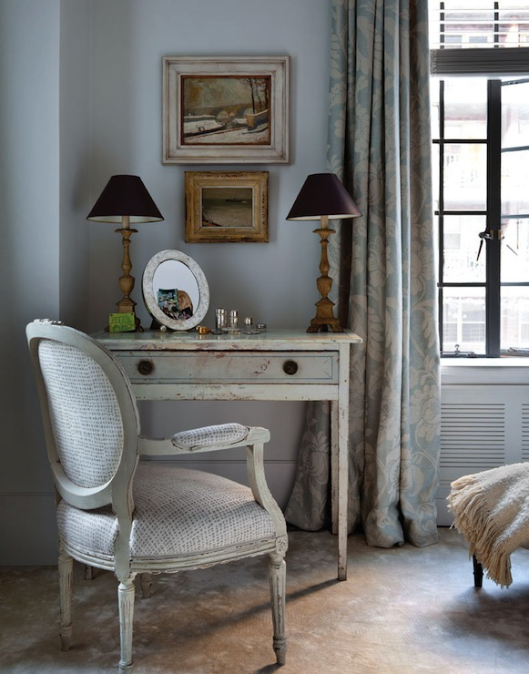French Vanity  Eclectic  bedroom  Best and Company NYC