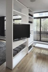 Rotating Flatscreen TV - Modern - living room - Magdalena ...