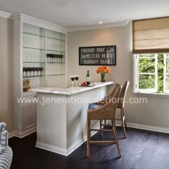Living Room Bar Reclining Sofas Transitional Jeneration Interiors