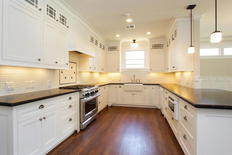 craftsman style kitchen cabinets hanging towel backsplash tile kits for small house interior design ideas