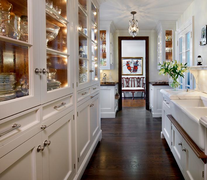 Galley Kitchen Transitional Kitchen OBrien Harris