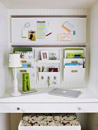 Kitchen Desk Organization Ideas - Image to u
