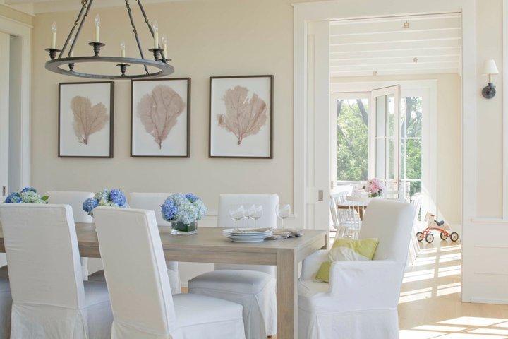sailcloth beach chairs hair salon massage chair coastal dining room transitional benjamin moore