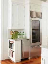 End Cabinet Bookcase - Transitional - kitchen - BHG