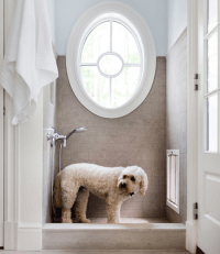 Dog Shower - Traditional - laundry room - Morgan Harrison Home