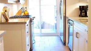 Kashmir White Granite Contemporary Kitchen Rambling