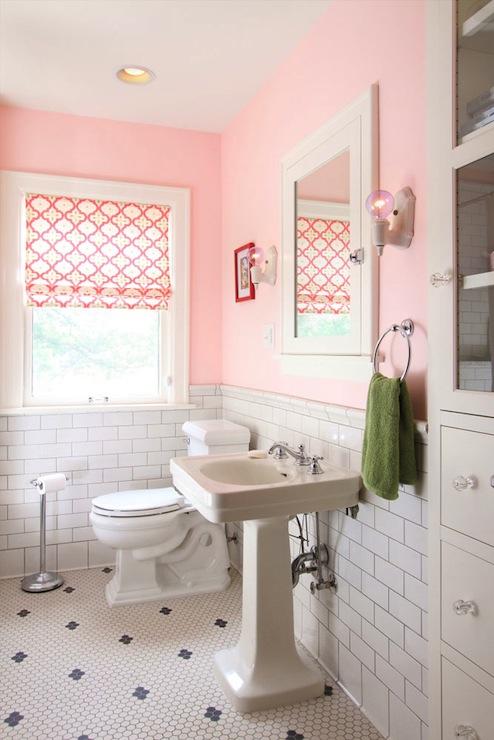 Pink Girls Bathroom  Contemporary  bathroom  wb builders
