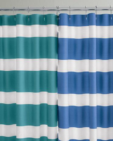 Teal Ombre Shower Curtain