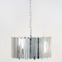 Mirrored Chandelier - Look 4 Less and Steals and Deals.