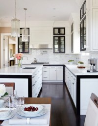 Black and White KItchen Design - Contemporary - kitchen ...