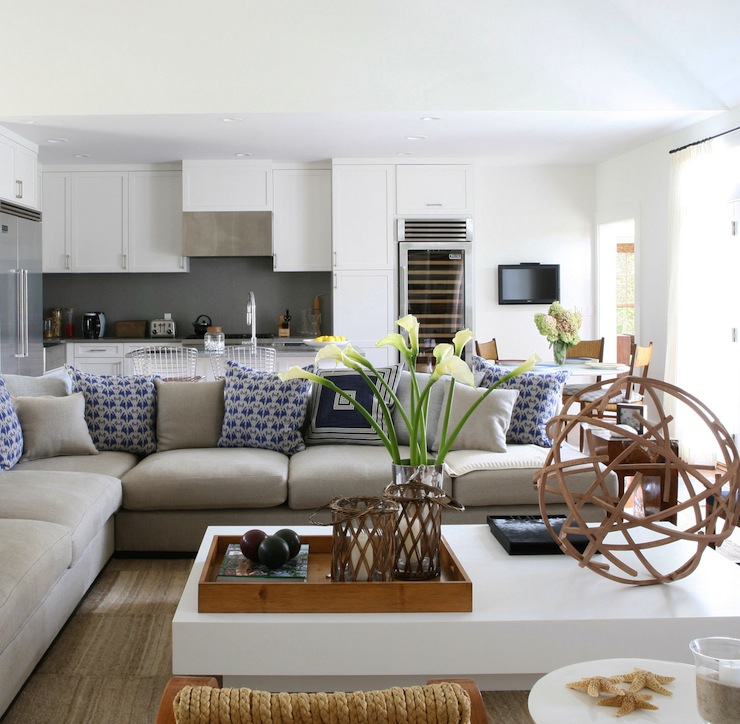 gray sectional sofa contemporary