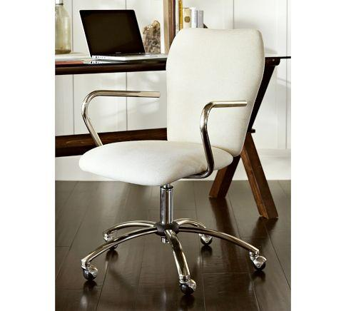 Foster Swivel Desk Chair  Pottery Barn