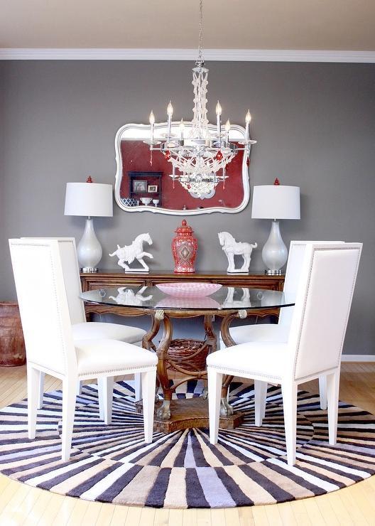 Modern Dining Room Sherwin Williams Dovetail Porter