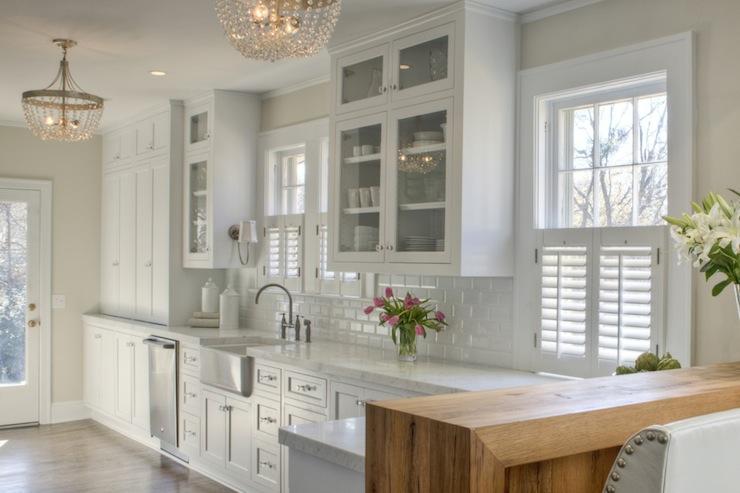Shaker Kitchen Cabinets Transitional Kitchen Allison