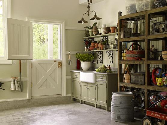 Dutch Door  Country  garage  Kitchens by Deane