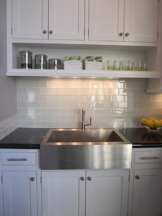 Gray Subway Tile Contemporary Kitchen Artistic Designs
