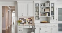 Built In Desk - Contemporary - kitchen - Kitchens by Deane