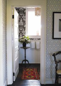 Trellis Manuel Canovas Wallpaper - Eclectic - bathroom ...