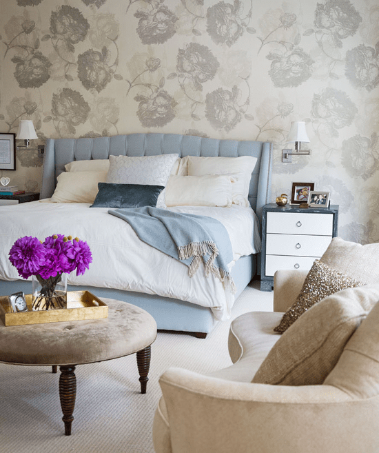 Mitchell Gold Loveseat  Transitional  bedroom