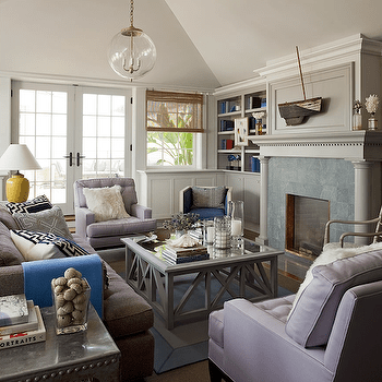 teal tufted chair office hong kong lilac and gray living room design ideas